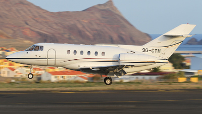 9G-CTH - Hawker Beechcraft 800XP - Private