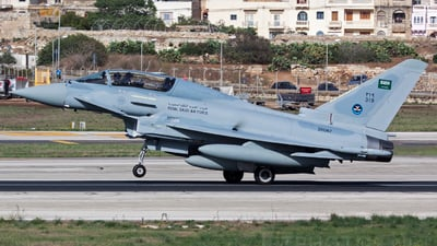 ZK087 - Eurofighter Typhoon EF2000(T) - Saudi Arabia - Air Force