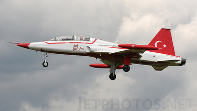 70-3009 - Canadair NF-5B Freedom Fighter - Turkey - Air Force