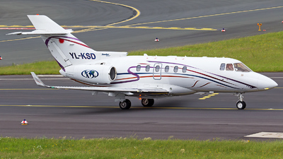 YL-KSD - Hawker Beechcraft 850XP - Private