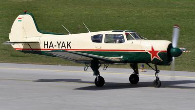 HA-YAK - Yakovlev Yak-18T - Private