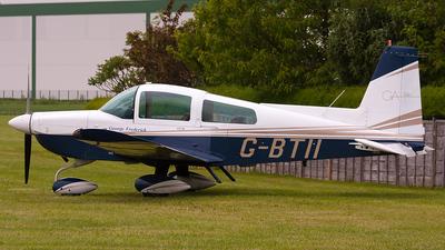 A picture of GBTII - Gulfstream AA5B Tiger - [AA5B1256] - © IAN CHANTLER