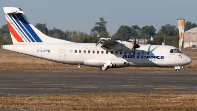 F-GPYK - ATR 42-500 - Air France (Airlinair)