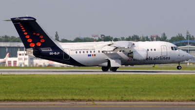 OO-DJP - British Aerospace Avro RJ85 - Brussels Airlines