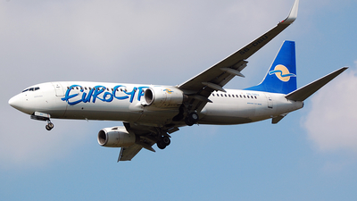 5B-DBU - Boeing 737-8Q8 - Eurocypria Airlines