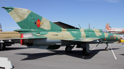 770 - Mikoyan-Gurevich Mig-21 Fishbed - German Democratic Republic - Air Force