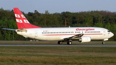 4L-TGT - Boeing 737-4Q8 - Georgian Airways