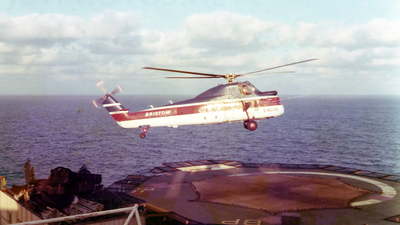 G-BCDE - Sikorsky S-58ET - Bristow Helicopters