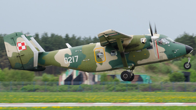 0217 - PZL-Mielec M-28TD Bryza - Poland - Air Force