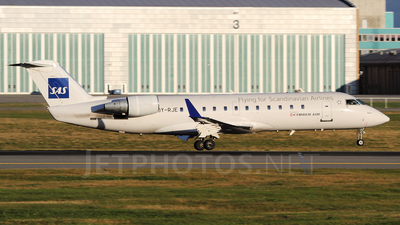 OY-RJE - Bombardier CRJ-100LR - Scandinavian Airlines (Cimber Sterling Airlines)