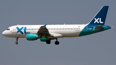 F-GRSI - Airbus A320-214 - XL Airways France