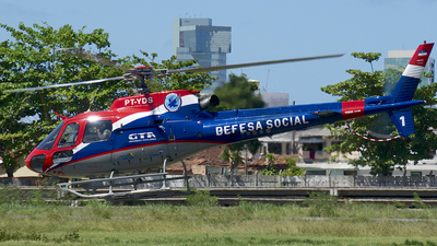PT-YDS - Helibrás HB-350B Esquilo - Brazil - Military Police of Pernambuco State
