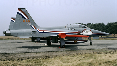 K-3054 - Canadair NF-5A Freedom Fighter - Netherlands - Royal Air Force