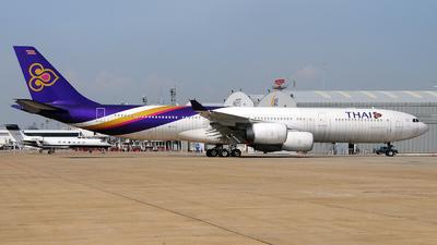 HS-TLC - Airbus A340-541 - Thai Airways International