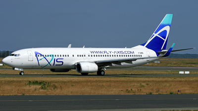 F-GIRS - Boeing 737-86N - New Axis Airways