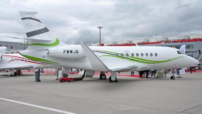 A picture of FWWJQ - Dassault Falcon 2000 - [] - © Luca Martinetto