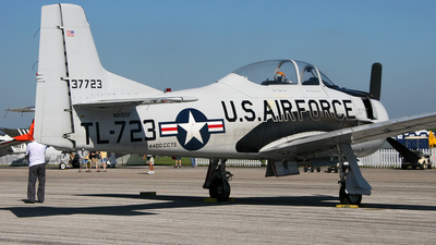 N2155F - North American T-28 Trojan - Private