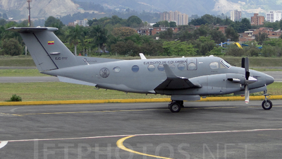 EJC1117 - Beechcraft B200 Super King Air - Colombia - Army