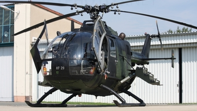87-29 - MBB Bo105P1 - Germany - Army