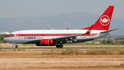 OY-MRS - Boeing 737-76N - Cimber Sterling Airlines