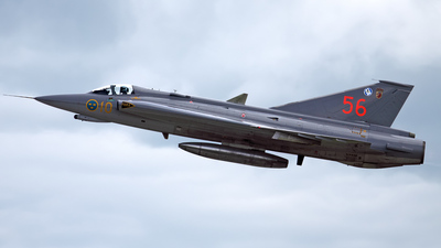 35556 - Saab J-35J Draken - Sweden - Air Force