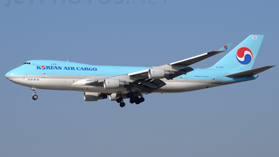 HL7605 - Boeing 747-4B5ERF - Korean Air Cargo