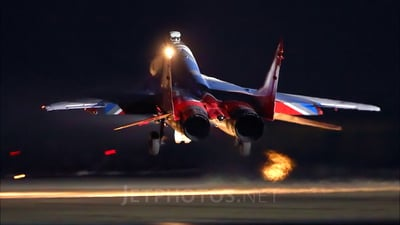 14 - Mikoyan-Gurevich MiG-29UB Fulcrum - Russia - Air Force