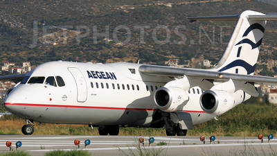SX-DVF - British Aerospace Avro RJ100 - Aegean Airlines