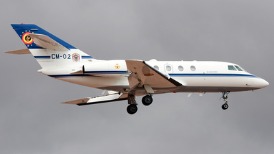 CM-02 - Dassault Falcon 20E - Belgium - Air Force