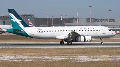 D-AXAR - Airbus A320-233 - SilkAir