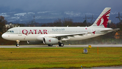 A7-AHY - Airbus A320-232 - Qatar Airways