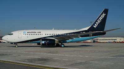 OY-MRI - Boeing 737-7L9 - Maersk Air