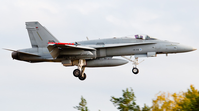 HN-418 - McDonnell Douglas F-18C Hornet - Finland - Air Force