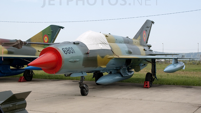 6801 - Mikoyan-Gurevich MiG-21MF Lancer A - Romania - Air Force