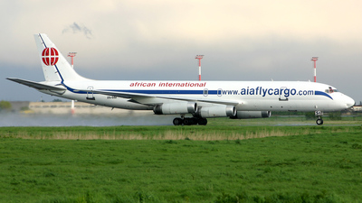 ZS-OSI - Douglas DC-8-62(F) - African International Airways