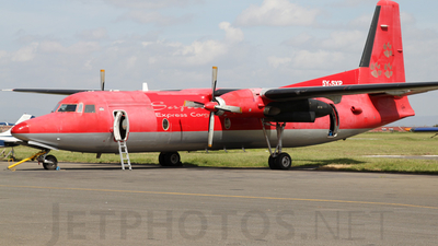 5Y-SXP - Fokker F27-500 Friendship - Safari Express Cargo