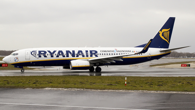 EI-EGC - Boeing 737-8AS - Ryanair