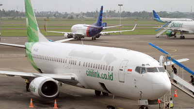 PK-GZQ - Boeing 737-4S3 - Citilink