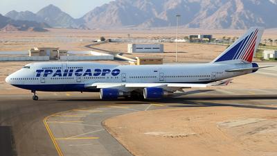 EI-XLF - Boeing 747-446 - Transaero Airlines