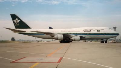 HZ-AIK - Boeing 747-368 - Saudia - Saudi Arabian Airlines