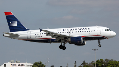 N764US - Airbus A319-112 - US Airways