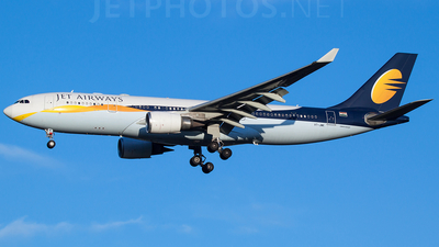 VT-JWK - Airbus A330-202 - Jet Airways
