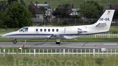 OE-GIL - Cessna 550 Citation II - Air Styria