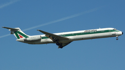 I-DAWE - McDonnell Douglas MD-82 - Alitalia