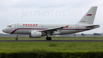 VQ-BAR - Airbus A319-112 - Rossiya Airlines