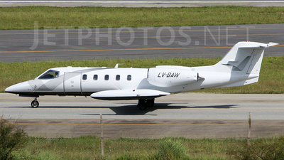 LV-BAW - Bombardier Learjet 35A - Baires Fly