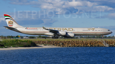 A6-EHF - Airbus A340-642X - Etihad Airways