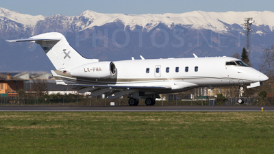 LX-PMA - Bombardier BD-100-1A10 Challenger 300 - Luxaviation