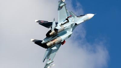 55 - Sukhoi Su-30SM - Russia - Air Force