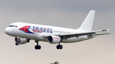 YL-LCJ - Airbus A320-212 - Travel Service (SmartLynx Airlines)